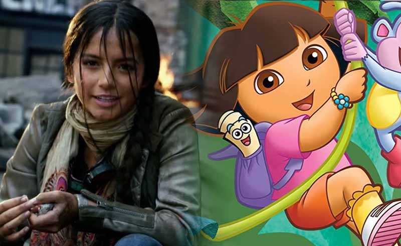 First Look at Dora in Michael Bay's Live-Action Dora the Explorer Movie