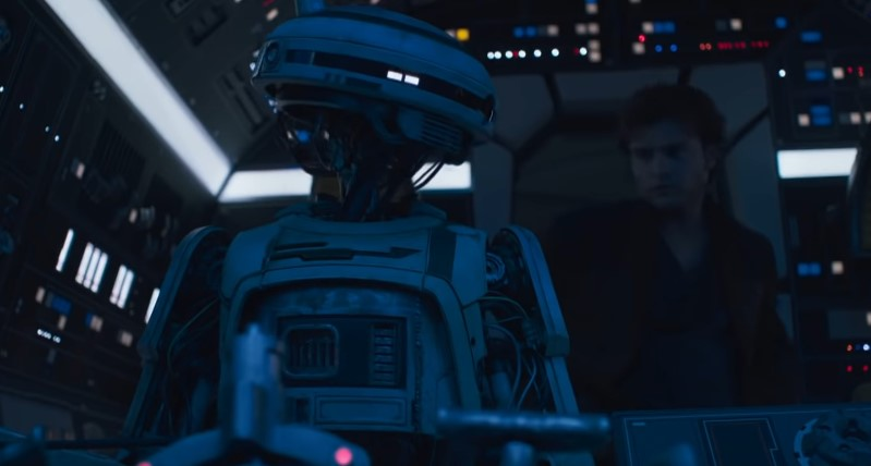 Solo: Take a BTS Look at Phoebe Waller-Bridge's L3-37 Suit Before CGI