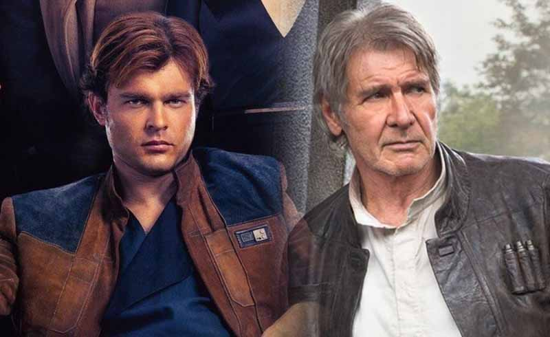 Solo: Alden Ehrenreich Gets a Surprise Visit from Harrison Ford