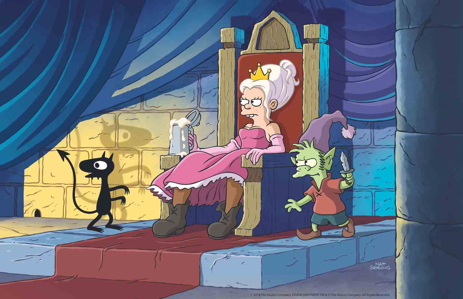 Disenchantment: First Look at Matt Groening's Animated Netflix Series