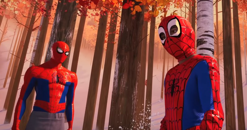 Miles Morales Meets Peter Parker in Full Trailer for Spider-Man: Into the Spider-Verse