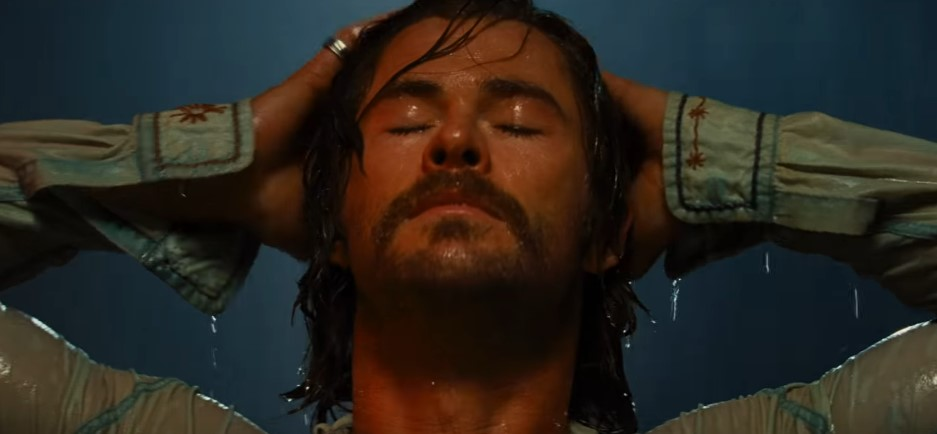 Chris Hemsworth Channels Buffalo Bill in Star-Studded Trailer for Bad Times at the El Royale