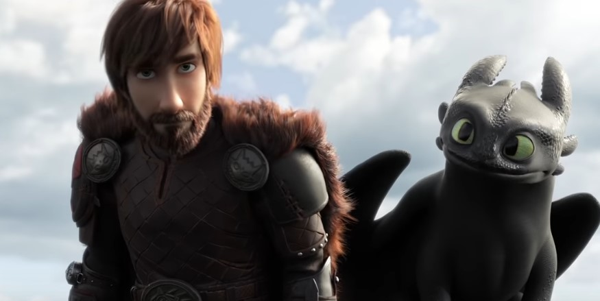 Hiccup Grows Old in New Trailer for How to Train Your Dragon 3