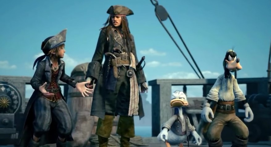 Jack Sparrow Returns in Kingdom Hearts III Trailer