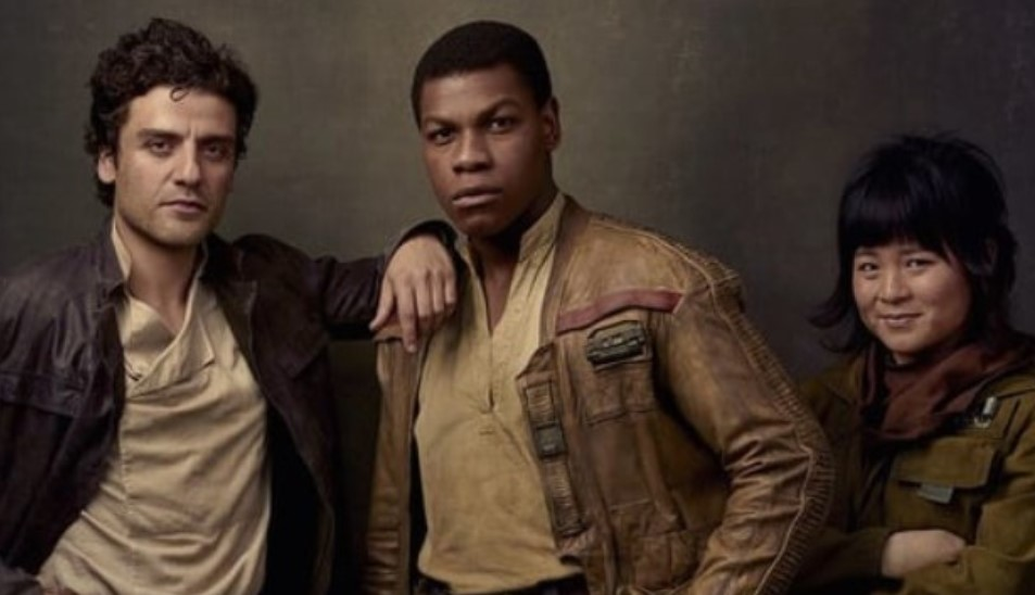 Star Wars Episode IX Set Photo Features Finn, Poe, and Chewbacca