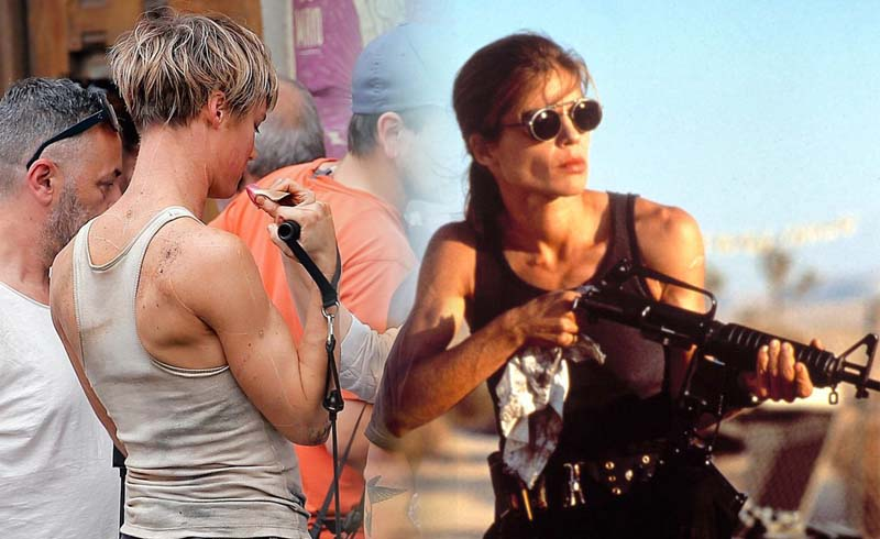 Terminator 6: New Images of Linda Hamilton and MacKenzie Davis