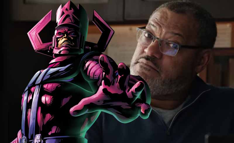Laurence Fishburne Wants to Play Galactus for the MCU
