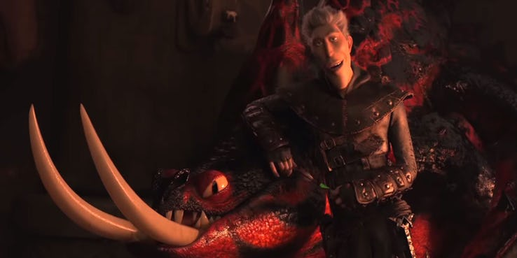 More Details on the Villain Grimmel from How to Train Your Dragon: The Hidden World