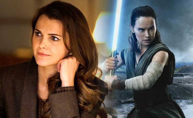 Keri Russell Talks About Reuniting with J.J. Abrams for Star Wars Episode IX
