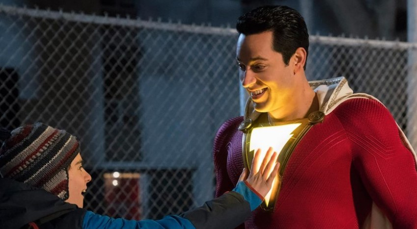 New Shazam! Photos Show Off Connections to the Aquaman, Man of Steel, and BvS