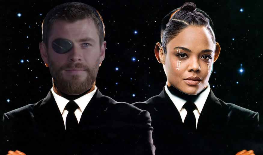 First Photos of Chris Hemsworth as Agent H in Men in Black Reboot