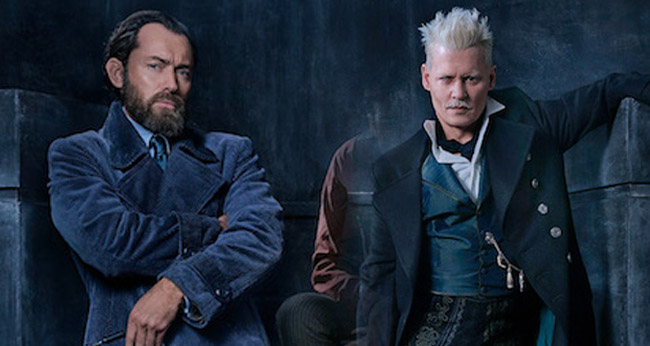 Jude Law: Dumbledore and Grindelwald Won't Share Scenes in Fantastic Beasts 2
