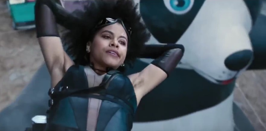 Deadpool 2's Zazie Beetz Talks About Domino's Armpit Hair