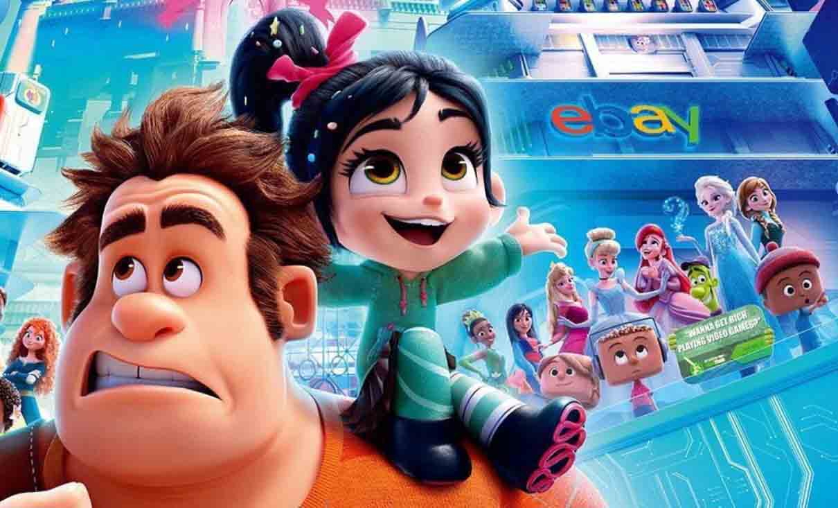 The Disney Princesses Grace the New International Poster Of Wreck-It Ralph 2: Ralph Wrecks the Internet