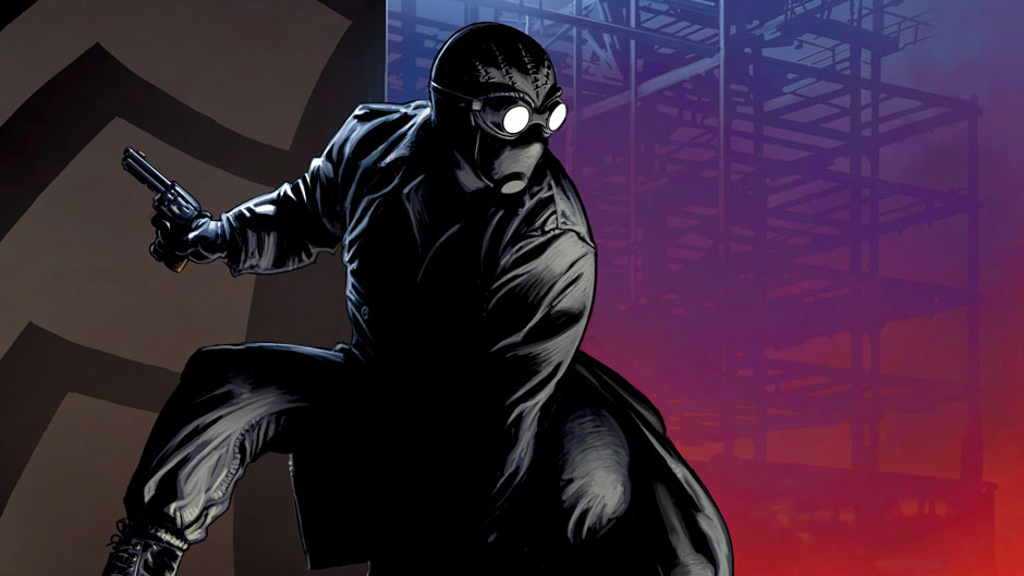 Spider-Man Far from Home: A Close-Up Look at Spidey's Noir-Inspired Stealth Suit