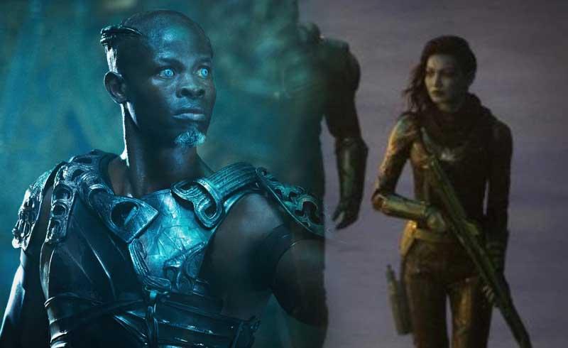 Captain Marvel: More on Characters Minn-Erva and Korath