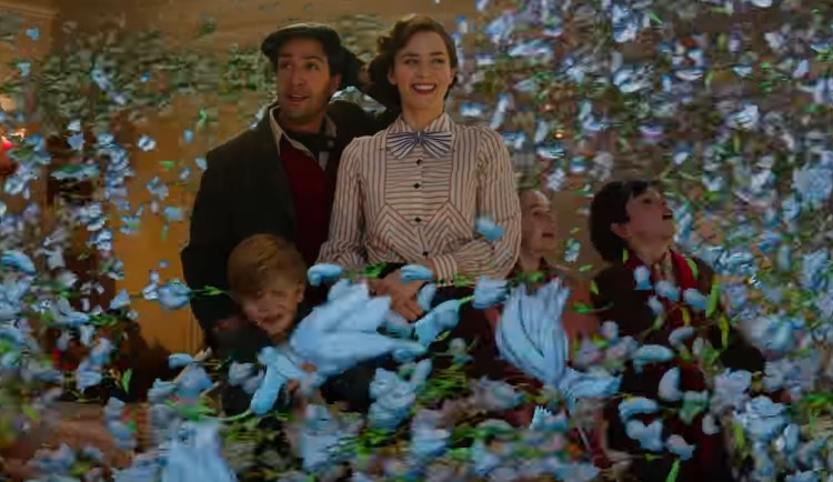 Mary Poppins Returns in Wonderful New Trailer