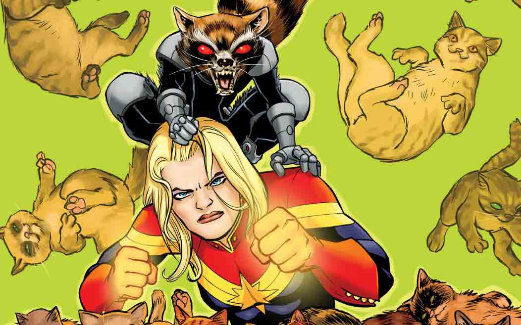 Captain Marvel's Pet Cat 'Chewie' Spotted in the Teaser Poster