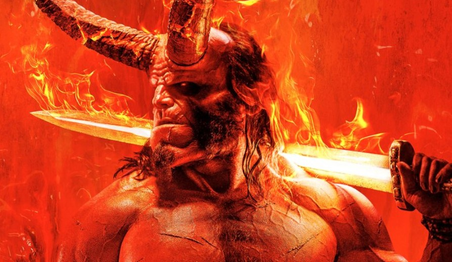 Check Out The Fiery New Poster for the Hellboy Reboot