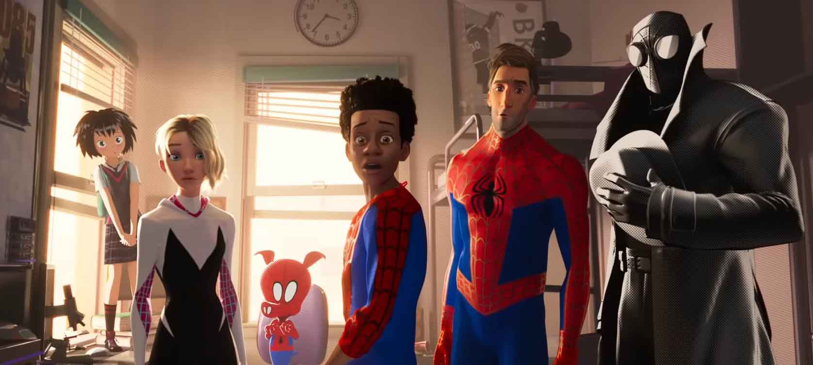 New Trailer for Spider-Man: Into the Spider-Verse Features More Spider-People