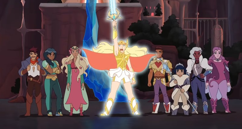 Watch the Full Trailer for She-Ra and the Princesses of Power