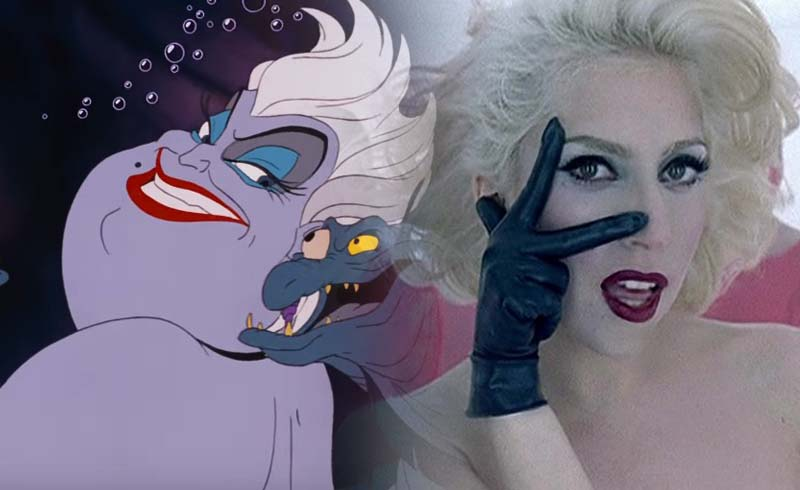 Rumor: Disney Considering Lady Gaga for Ursula in Live-Action The Little Mermaid