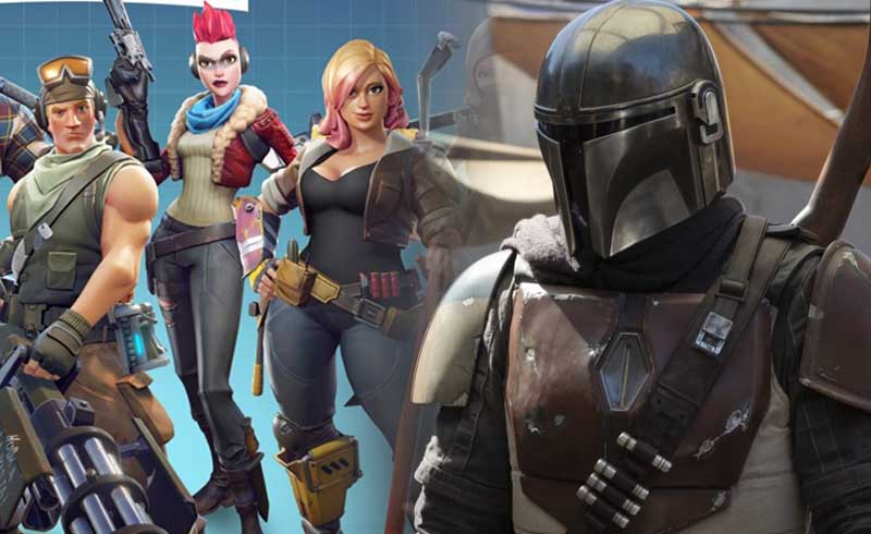 Lucasfilm Teaming Up With Fortnite Developers To Work On Star Wars Live Action Series Geekfeed Fortnite 'zero point' event assembles the greatest hunters across all realities, including the mandalorian. lucasfilm teaming up with fortnite