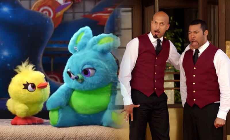 Key and Peele Channel Their Valet Skit in 2nd Teaser for Toy Story 4