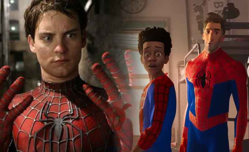 Tobey Maguire was Considered to Play Peter Parker in Spider-Man: Into the Spider-Verse