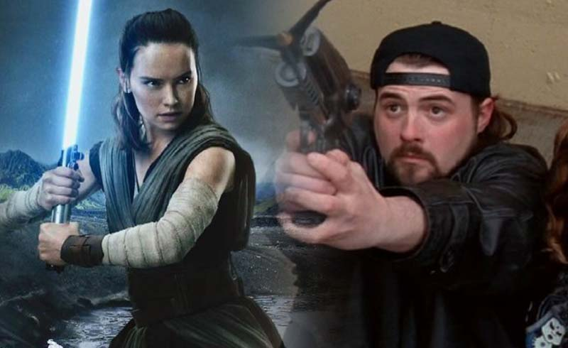 Kevin Smith Talks About His Set Visit to Star Wars: The Rise of Skywalker