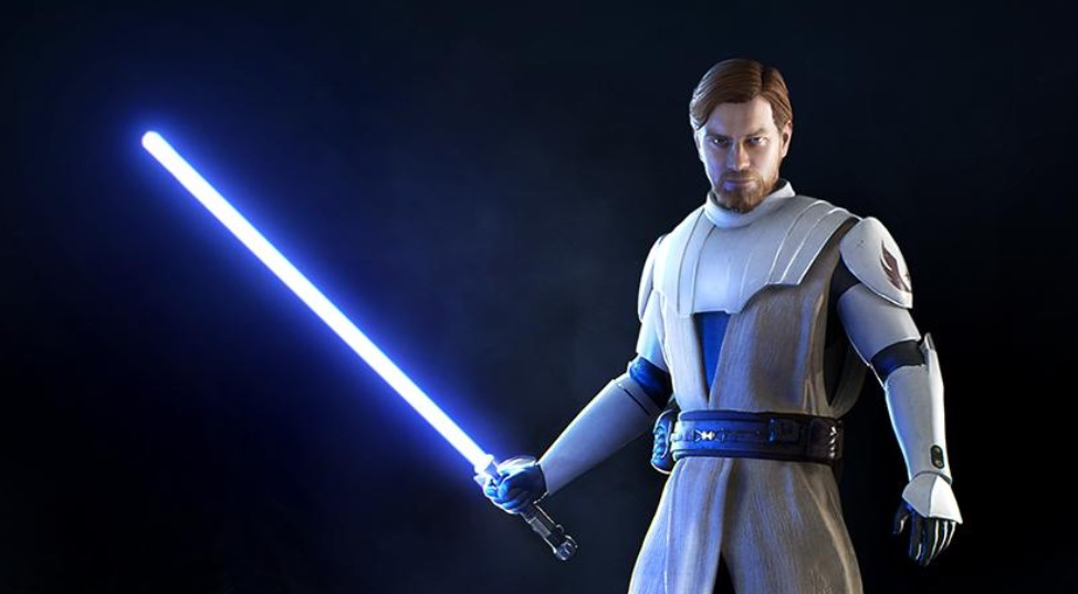 Star Wars Battlefront II: First Official Look at Obi-Wan's Clone Wars Skin