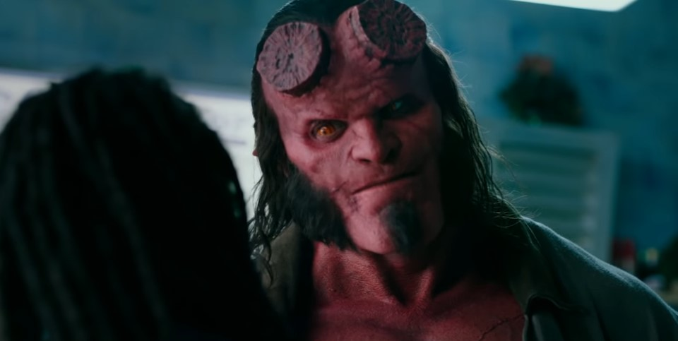 Hellboy: David Harbour is the Right Hand of Doom in New Trailer