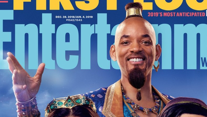 Aladdin: New Images Give Us First Look at Will Smith's Genie