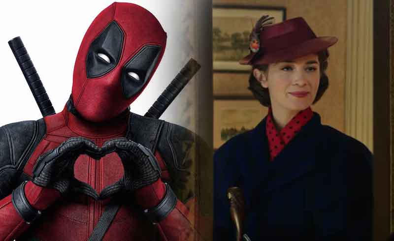 Ryan Reynolds Congratulates Emily Blunt on Mary Poppins Returns… Sort of