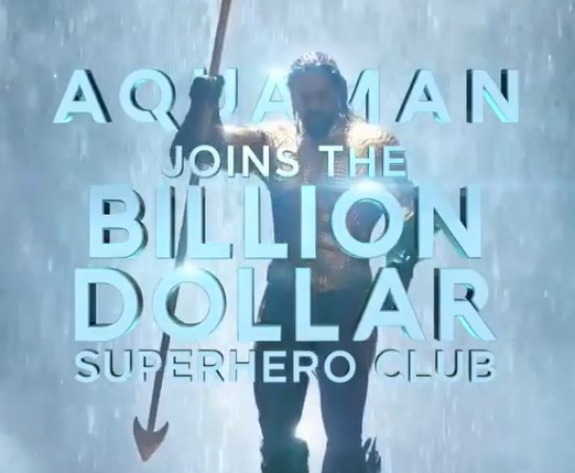 Jason Momoa, James Wan Celebrate The $1 billion Success Of Aquaman