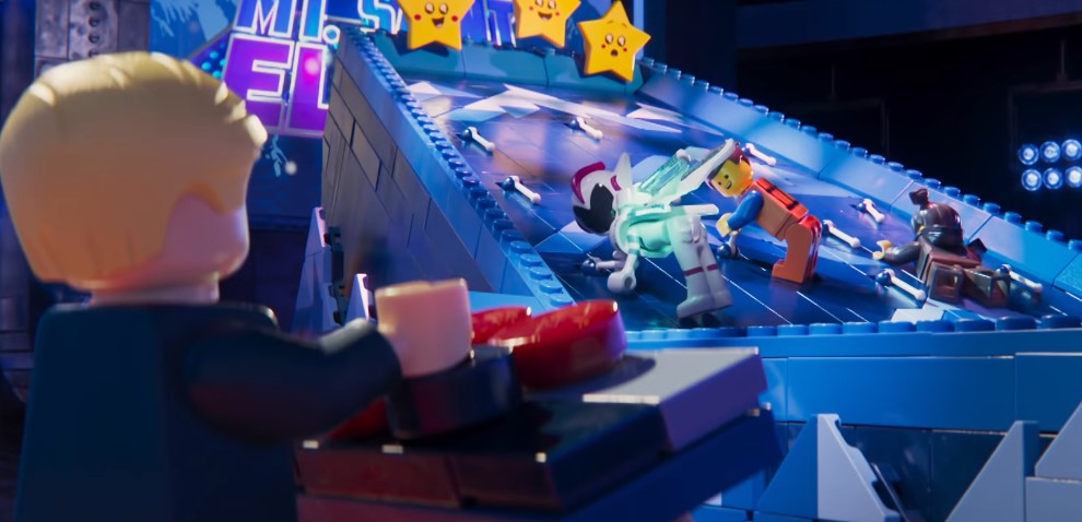 The LEGO Movie 2: Watch Emmet and Friends Play a Game on The Ellen Show
