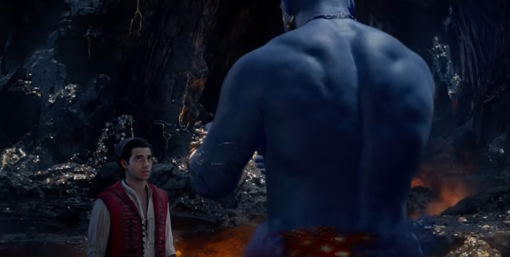 Will Smith's Genie Comes Full Form in New Trailer for Aladdin