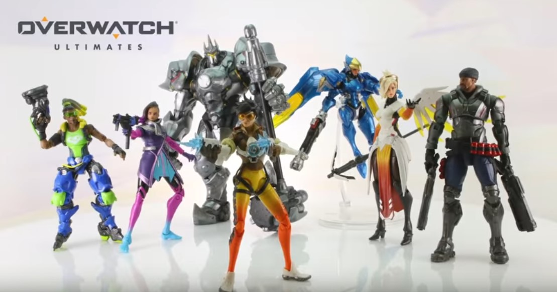 Hasbro Unveils Overwatch Ultimates Toyline