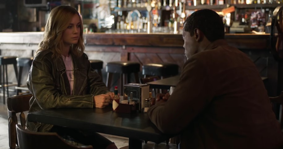 Captain Marvel: Nick Fury Interrogates Carol Danvers in New Clip