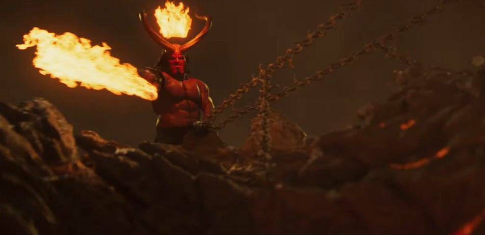 New Red Band Trailer for Hellboy Reboot Released