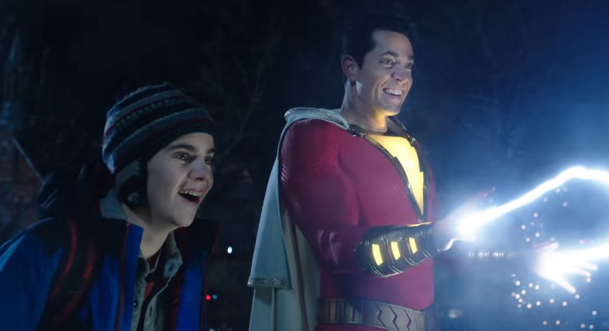 New Shazam! Trailer Finally Dropped