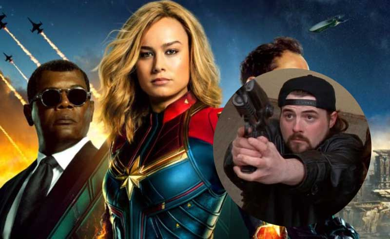 Kevin Smith Gets Emotional Over Being Part of the MCU Thanks to Captain Marvel