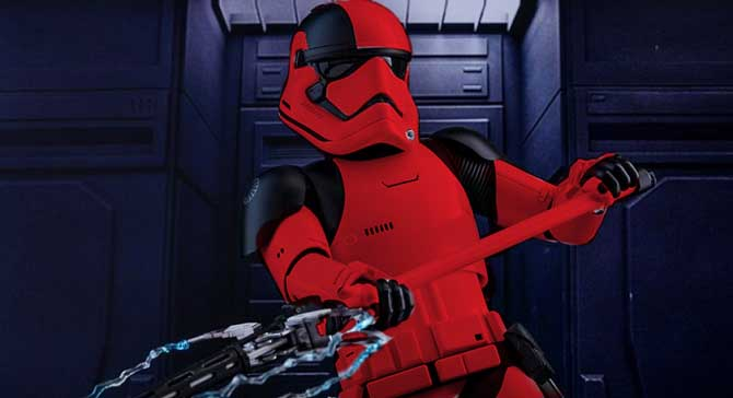 Fanart Imagines the Red Stormtroopers for Star Wars Episode IX
