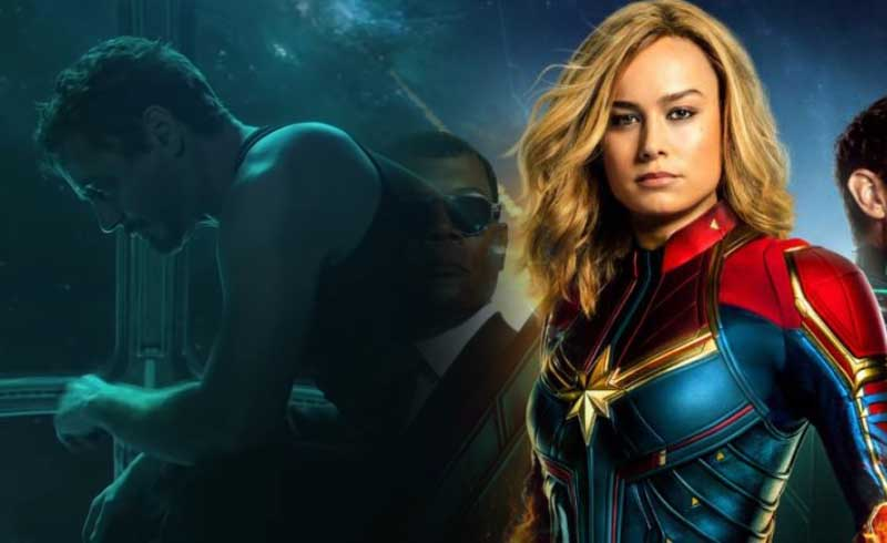 Avengers: Endgame Promo Art Reveals New Iron Man and Captain Marvel Suits