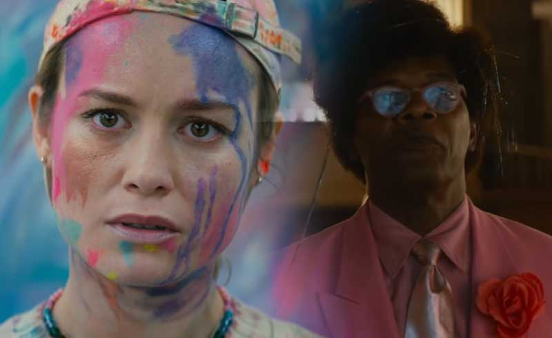 Unicorn Store: Captain Marvel's Brie Larson Directs Samuel L. Jackson in Netflix Film