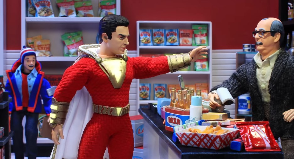 Watch: Robot Chicken's Take on the Upcoming Shazam!