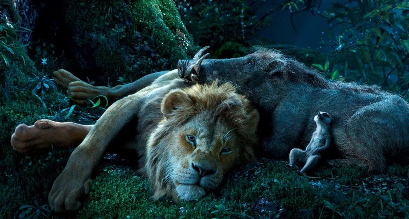 New Images for Disney's The Lion King Remake