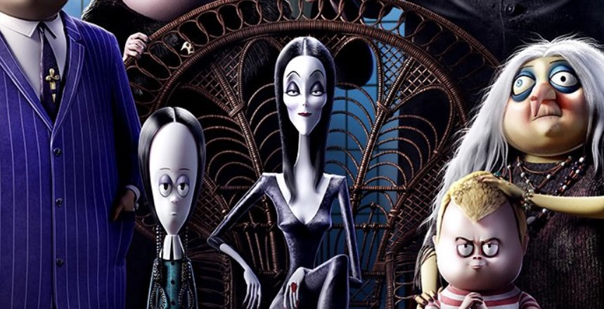 First Look at The Addams Family Starring Charlize Theron and Oscar Isaac