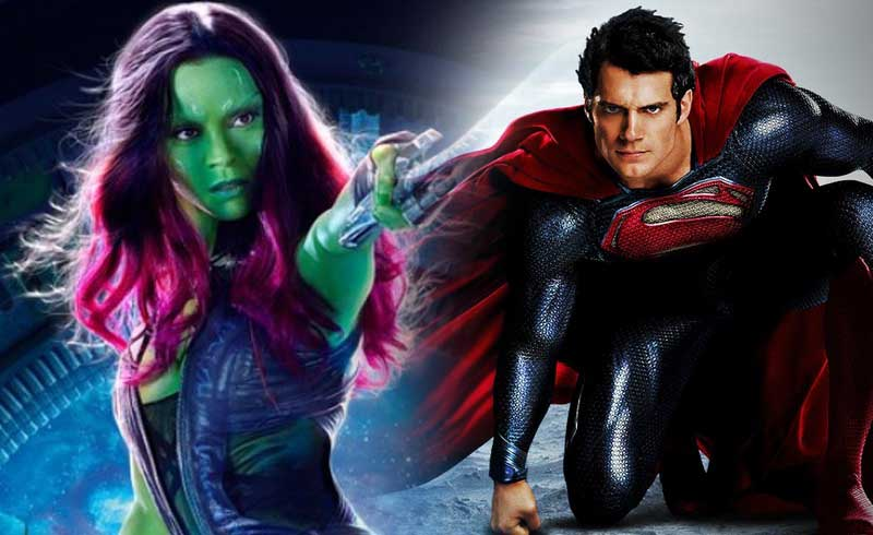GOTG's Zoe Saldana was Almost Lois Lane in Man of Steel