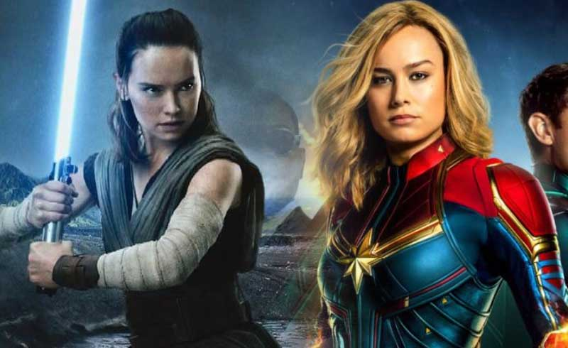 Watch Captain Marvel Brie Larson Having Fun in Star Wars: Galaxy's Edge